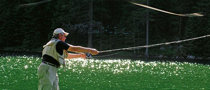 Angelurlaub, Fischen in Zauchensee, Salzburger Land