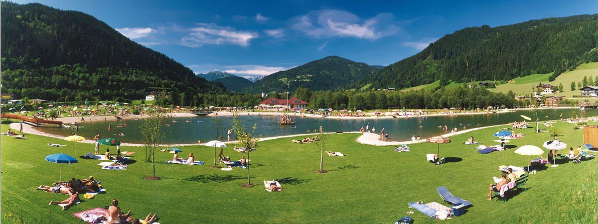 Ausflugsziele vom 3 Sterne Hotel & Gasthof Markterwirt in Altenmarkt-Zauchensee – Erlebnisbadesee Eben