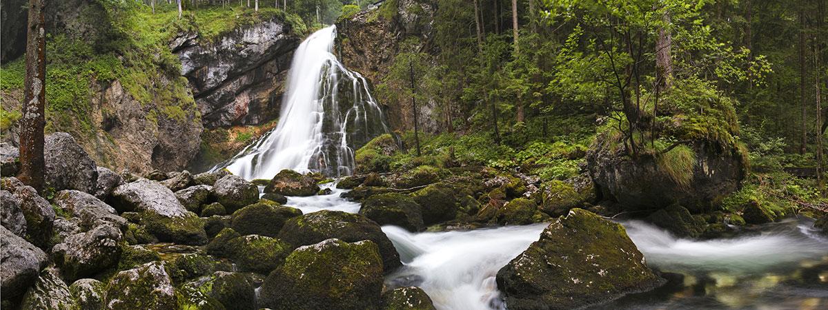 Ausflugsziele vom 3 Sterne Hotel & Gasthof Markterwirt in Altenmarkt-Zauchensee – Gollinger Wasserfälle
