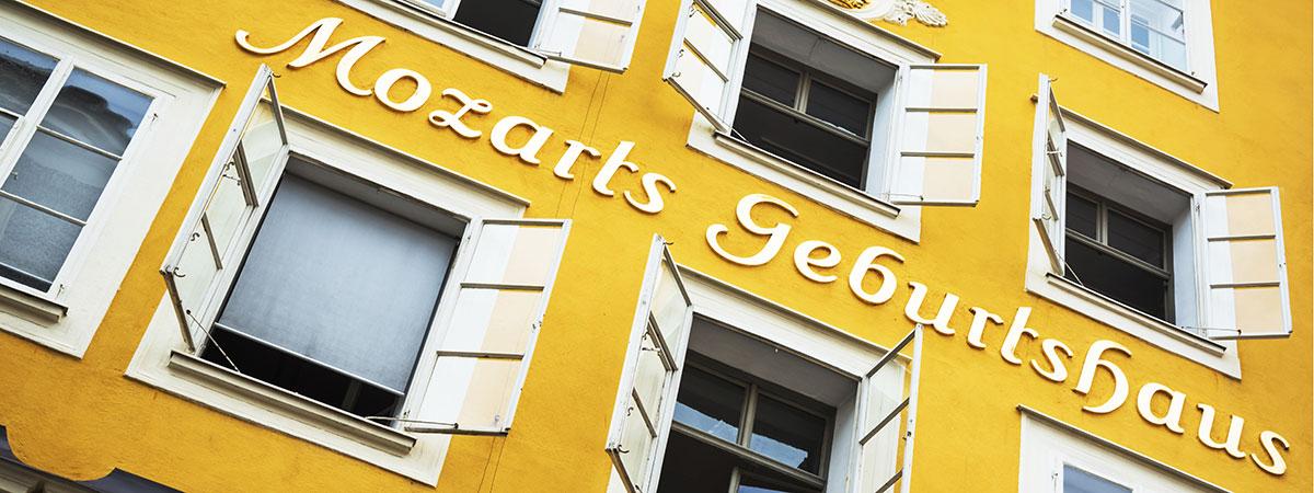 Ausflugsziele vom 3 Sterne Hotel & Gasthof Markterwirt in Altenmarkt-Zauchensee – Mozart's Geburtshaus