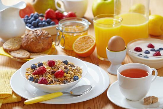 Frühstücksbuffet im Hotel Markterwirt, Altenmarkt-Zauchensee