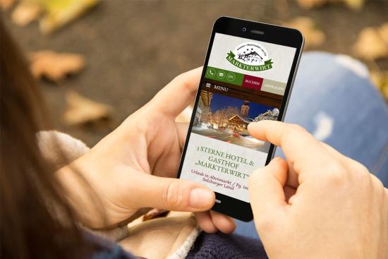 Neue Website ist online - Hotel Markterwirt