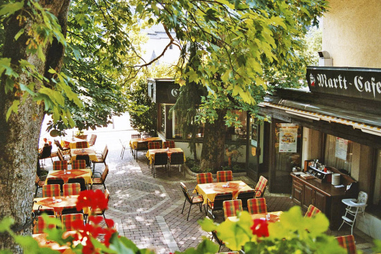 Gastgarten des Markterwirts - Restaurant in Altenmarkt