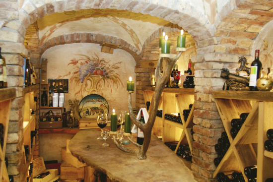 Weinkeller in Altemarkt, Gwölbl