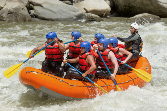 Actionsport - Rafting im Salzburger Land